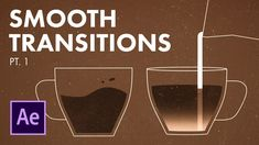 After Effects Smooth Transitions - Animation Tutorial pt. 1 After Effects Smooth Transitions - Animation Tutorial pt. Adobe After Effects Tutorials, Effects Photoshop, Video Effects, After Effects Projects, Web Design, Graphic Design Tutorials, Motion Design, Stop Motion Photography, Learn Animation