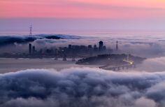 A cidade fantasma, San Francisco, Estados Unidos. Por Peter Majkut.