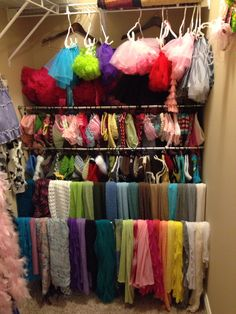 Getting my photo props closet organized