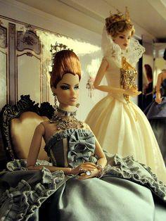 barbie dolls. Victorian by JennFL2, via Flickr..37 qw