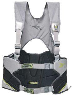 Reebok Lacrosse Protector 3K Rib Pad (Black/Silver, Small) by Reebok. $25.00. Reebok Lacrosse Protector 3K Rib Pad
