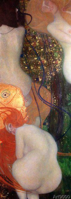 Gustav Klimt - Goldfish, 1901-02