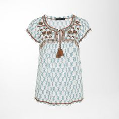 Luftiges Shirt im Boho chic! #EuropaPassage #EuropaPassageHamburg #style #fashion #mode #trend #outfit