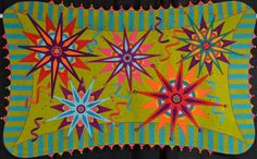 """2011 National Quilting Association, Best of Show, Small Quilt: Susan Cleveland, """"Psychedelic Big Bang""""."""