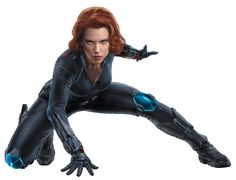 Black Widow (Natasha Romanova). The Avengers. Super fighter who understands her physical allure and uses it as bait before utilizing her enhanced fighting ability.