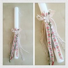 Easter candle by Stella Handcrafts. Λαμπάδα. Ντεκουπάζ. Decoupaz. Πασχαλινές Λαμπάδες by Stella Handcrafts.