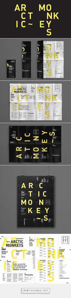 Arctic Monkeys Typographic Poster | Lee Marcus
