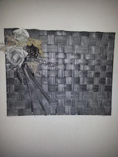 schilderij te maken van fietsbanden