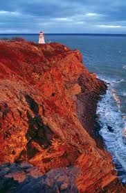 Cape Enrage Lighthouse, New Brunswick, Canada! It looks into the Bay of Fundy. Places To See, Places Ive Been, New Brunswick, Hopewell Rocks, Atlantic Canada, Prince Edward Island, East Coast, North America