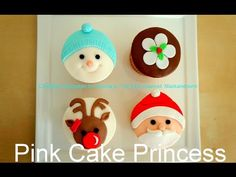 Christmas cupcakes - YouTube