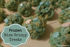 A great treat for your themed party, crispy cereal treat,with snow flakes, can make your winter or frozen themed party snacks. And they are delicious.| justmeregina.com