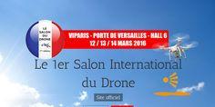 Présentation du 1er salon International du drone en France