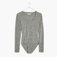 A good bodysuit is basically magic so we didn't mess around when it came to perfecting our very first collection. Seriously soft and holds-you-in stretchy, this scoop one-piece closes with three rows of snaps at the bottom for an adjustable fit (trust us, we tested it out).  <ul><li>Fitted.</li><li>Cotton/poly/spandex.</li><li>Machine wash.</li><li>Import.</li></ul>