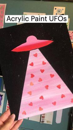 Acrylic Paint UFOs