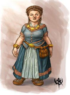 f Dwarf Merchant Female - naine# Fantasy Dwarf, Fantasy Rpg, Fantasy Girl, Dnd Characters, Fantasy Characters, Female Characters, Female Character Concept, Character Art, Character Ideas
