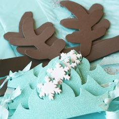 DIY Elsa Crowns and Sven Antlers | AllFreeHolidayCrafts.com