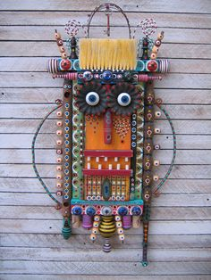 Home At Last - Found Object Assemblage by Fig Jam Studio. $369.00, via Etsy.