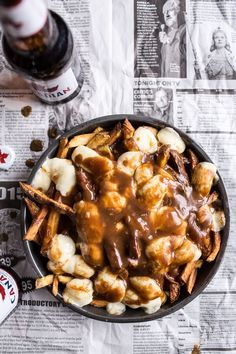 Authentic Canadian Poutine is part of food_drink - It's the perfect hangover food or maybe I should say, the best possible food to eat after a really fun St Patrick's Day Food For Thought, Think Food, Love Food, Canadian Cuisine, Canadian Food, Canadian Recipes, Canadian Snacks, Canadian Beer, Food Porn