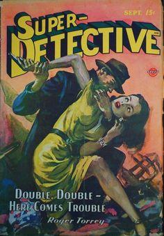 Super Detective, Sep. 1946 - H.J. Ward