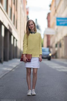 I don't think the preppy look will ever go out of style- so classic and clean looking
