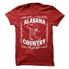 (Top Tshirt Discount) Alabama Country Girl T-Shirt [Tshirt Facebook] Hoodies, Funny Tee Shirts
