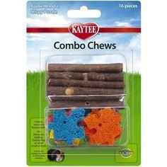 Kaytee Combo Chew Apple Wood/Puzzle