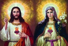 Sagrado Coracao de Jesus e Sagrado Coracao de Maria - Pesquisa Google