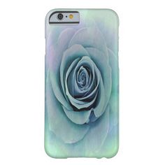 Tender Love Blue -Lavender Rose iPhone 6 Cases Barely There iPhone 6 Case