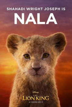 Disney has released The Lion King character posters for the CG remake directed by Jon Favreau, featuring stars like Beyonce and Donald Glover as the voices. Le Roi Lion Film, Le Roi Lion 2, Roi Lion Simba, Nala Lion King, Simba And Nala, Lion King Movie, Donald Glover, Simba Disney, Disney Lion King
