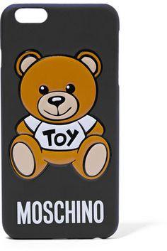 Moschino - Silicone Iphone 6+ Case - Black