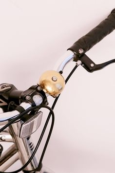 2dc9f34d1b5 Kikkerland Design Brass Bike Bell