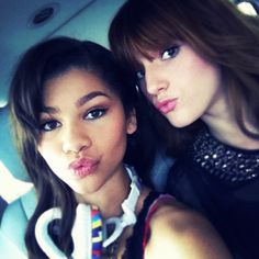 Zendaya Coleman and Bella Thorne