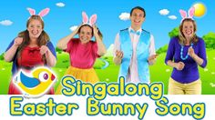 Sing along Easter Bunny Song, with lyrics - Bounce Patrol
