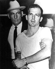 Lee Oswald in Custody of Dallas Police
