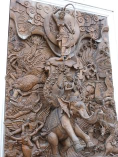 thailand wood carving - Google Search