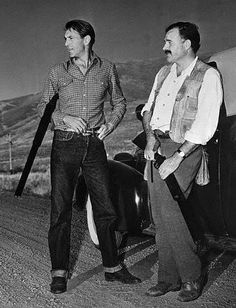 Gary Cooper and Ernest Hemingway, two men I so admire.  I wish I could bring them both back to life to star in the film version of this book.  Hemingway would love that!