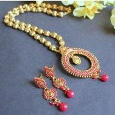stunning-ruby-antiqe-necklace-set-online-shopping-for-necklaces-by-dreamjwell