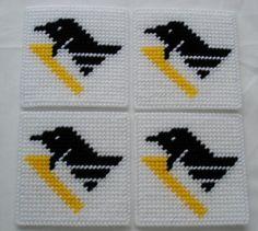 Pittsburgh Penguins' Logo Coasters