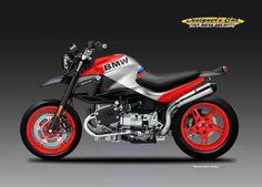 """BMW R 1150 """"STREET MOTARD"""" on Behance"""