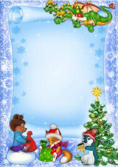 "Photo from album ""Новогодние шаблоны"" on Yandex. Christmas Frames, Christmas Pictures, Vintage Christmas, Christmas Diy, Christmas Cards, Merry Christmas, Christmas Ornaments, Diy And Crafts, Crafts For Kids"