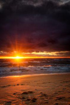 Levi Beach Sunset - Warrnambool, Victoria, Australia