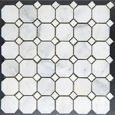 American olean 12 x 12 sausalito white white ceramic for Sausalito tile