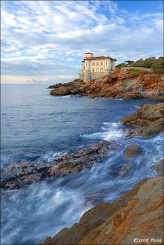 First call on our @Chelsea Silverzweig Cruises from Rome to Ft. Lauderdale is Livorno. Hope we see this lovely sight on the sail into port: Castello del Boccale, Livorno - Italy