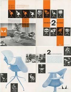 #HermanMiller Catalog; love these old ads!