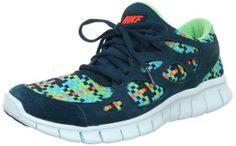 Nike Free Run 2 Woven shoes, SPRT TRQ/MID TRQ-TRMLN-TTL CRM (US 10)