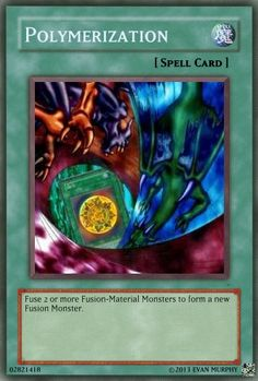 Polymerization. Better looking than the other one.