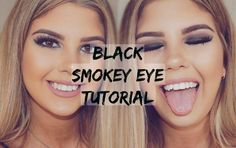 Black Smokey Eye ➳ Tartelette In Bloom Palette | Cass Sersemis