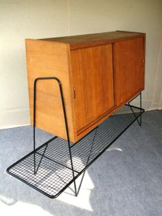 buffet enfilade commode design jacques hitier 1950