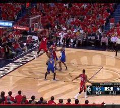 NBA: Top 10 NBA Plays (23 avril 2015) - vidéo