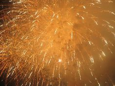 """""""Fireworks -- yellow powder fog gold"""""""